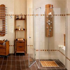 organisation salle de bains carrelage mural photos http With organisation salle de bain
