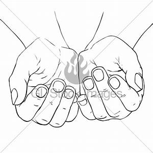 Cupped Female Hands · GL Stock Images
