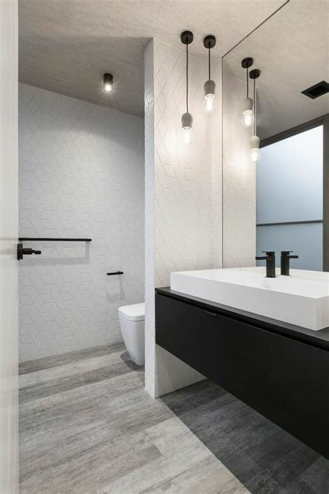 ideen fuer badezimmer ohne fliesen ganz kreativ
