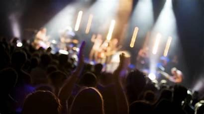 Concert Crowd Background Wallpapers Stage Desktop June