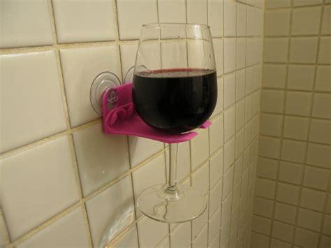 bathtub wine glass holder 3d printed bathtub wine glass holder isn t going anywhere