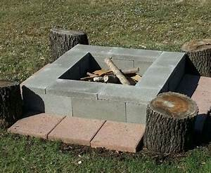 Cinder, Block, Fire, Pits, Types, Design, Ideas, And, Tips, How, To, Build, It