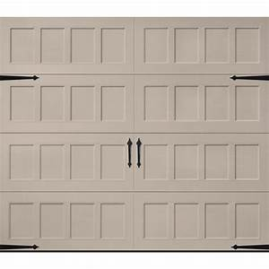 Carriage house garage doors lowes home desain 2018 for Carriage style garage doors lowes