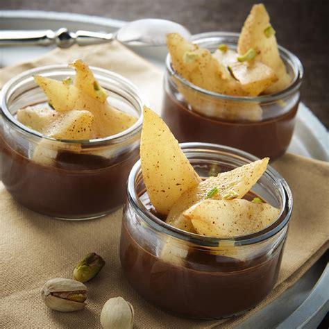 petit pot de cr 232 me chocolat poire r 244 tie vanille cannelle le fleurier