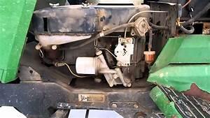 John Deere 265 Garden Tractor Rough Idle Issue Mp4