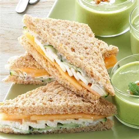 summer sandwich recipes summer tea sandwiches recipe taste of home