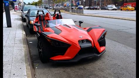 Polaris Slingshot, Three Wheeled Motorcycle In Queens, New