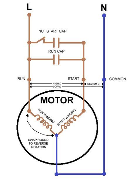 wiring diagram single phase motor wiring diagram single