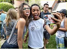 Zendaya Meets Inner City Kids at Just Jared Jr Fall Fun