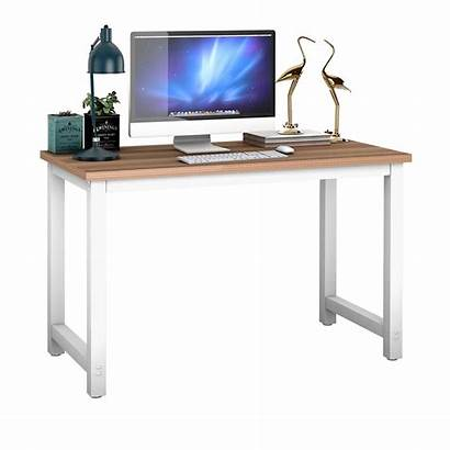 Desk Computer Workstation Laptop Table Office Wood
