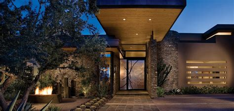 private residence scottsdale az modern entry