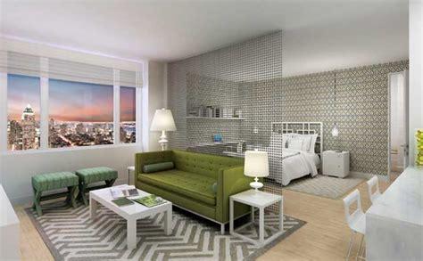Sofas For Studio Apartments by Haus Interior Modern Green Gray Contemporary Studio