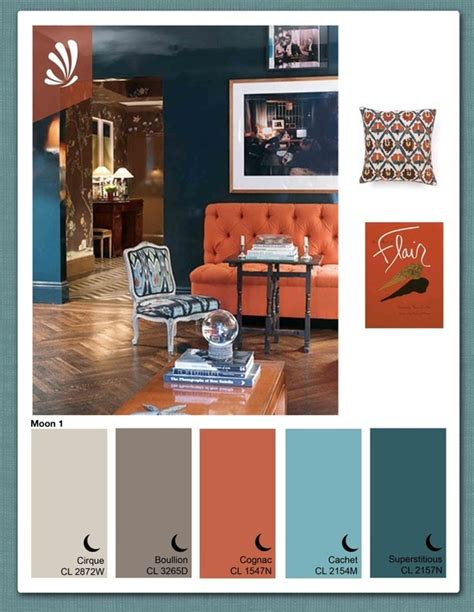teal and orange living room decor rust gray blue color combo living room ideas