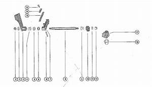 Mercury Marine 7 5 Hp Shift Control Linkage Parts