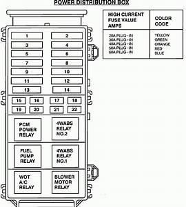 Diagram For 1994 Mazda B2300 Fuse Box