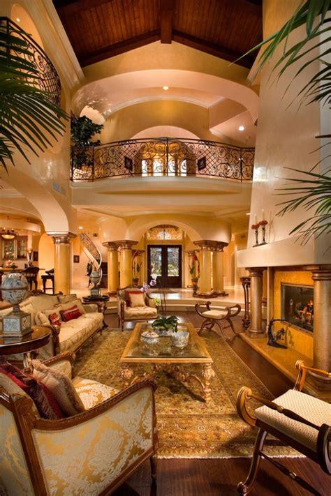extravagant mediterranean living room designs