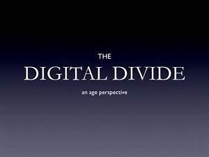 Digital Divide (age)