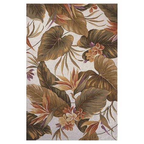 bird area rug kas rugs bird of paradise ivory 5 ft 3 in x 8 ft 3 in