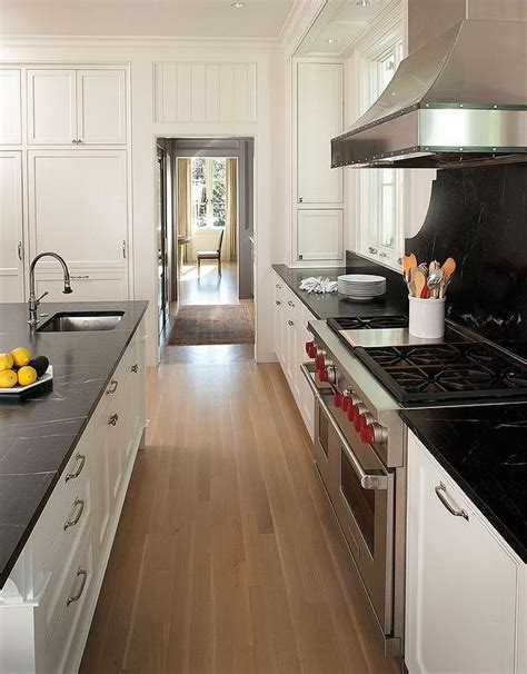 kitchen cabinets with soapstone countertops white shaker kitchen cabinets with black soapstone White