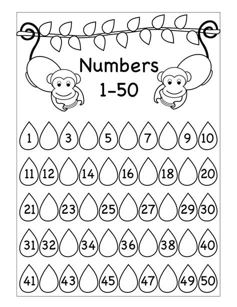 montessori math worksheets  worksheets toddler