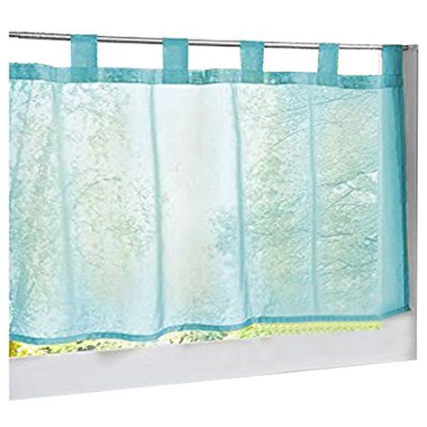 raffrollo mit schlaufen blau blau transparente gardinen vorh 228 nge und weitere gardinen vorh 228 nge g 252 nstig kaufen