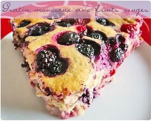 Gratin Fruits Rouges : gratin mousseux de fruits rouges chefnini ~ Melissatoandfro.com Idées de Décoration
