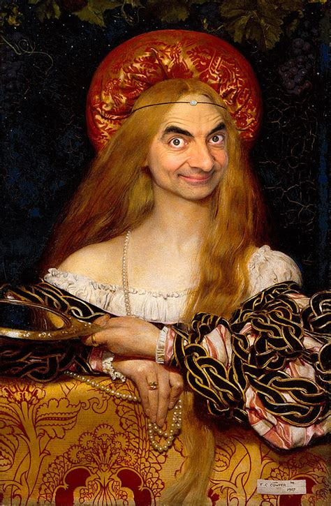 Mr Bean Inserted Into Historical Portraits By Caricature