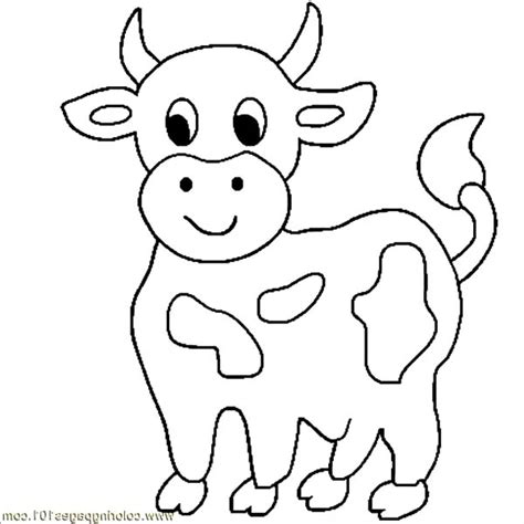 cow coloring page coloring pages of a cow coloring home