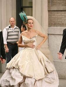 carrie bradshaw wedding dress quotes With sex and the city wedding dress