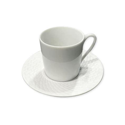 tasse 224 caf 233 design blanche en porcelaine 12cl stria