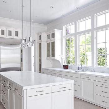 white flat front cabinets design decor