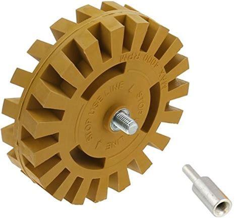 DocaDisc Decal Removal Eraser Wheel Tool Kit   4 inch