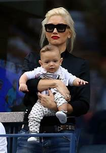 Gwen Stefani and Apollo Rossdale at the US Open | Photos ...