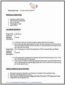 Personal Profile Format In Resume Over 10000 Cv And Resume Samples With Free Download