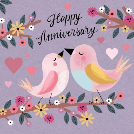 jenny wren love birds anni happy anniversary cards