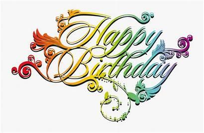 Birthday Happy Font Clipartkey Kb