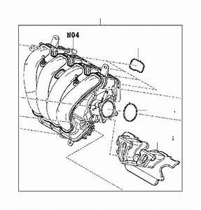 Toyota Yaris Ia Engine Intake Manifold  Engine Component