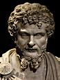 Septimius Severus (close-up). Marble. Ca. 200 CE. Inv. No ...