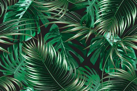 tropical palm leaves party photo background summer