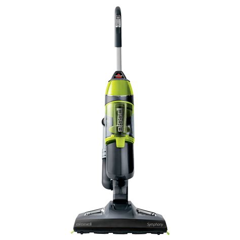 Swiffer Steam Mop On Hardwood Floors by Shop Bissell Symphony With Swiffer Steamboost 0 11 Gallon