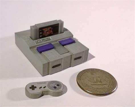 le de bureau neon 13 mini consoles de jeux vidéo réalisées par imprimante 3d