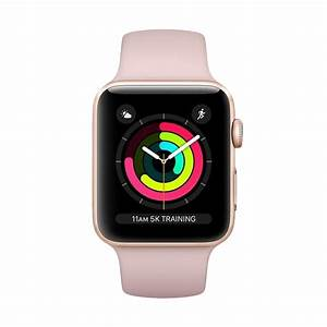 Jual Apple Watch Series 3 GPS 38mm Gold Alum with Pink ...