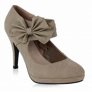 Schuhschrank Für High Heels : lath pin vintage damen schuhe pumps high heels beige brautschuhe mit schleife stilettosabsatz ~ Bigdaddyawards.com Haus und Dekorationen