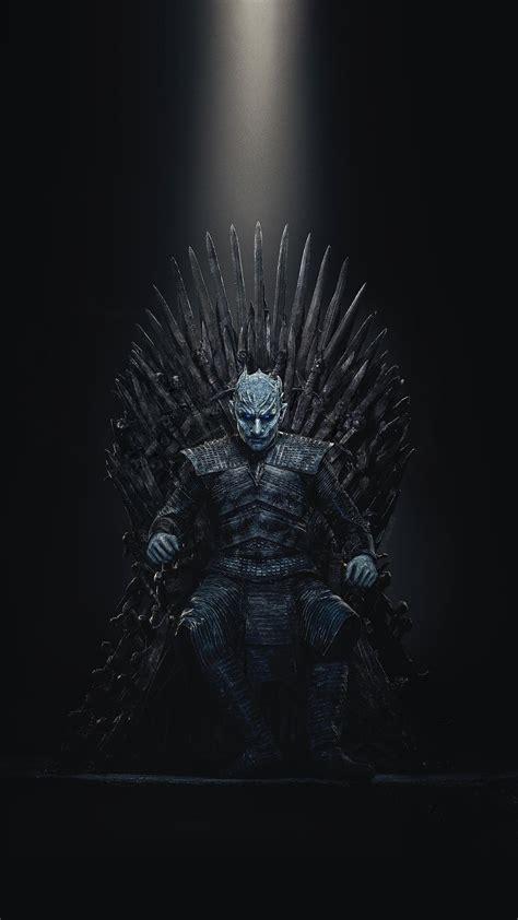 spoilers night king iron throne wallpaper gameofthrones