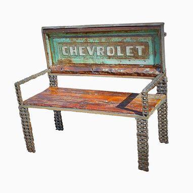 buy  custom chain metal art furniture truck tailgate