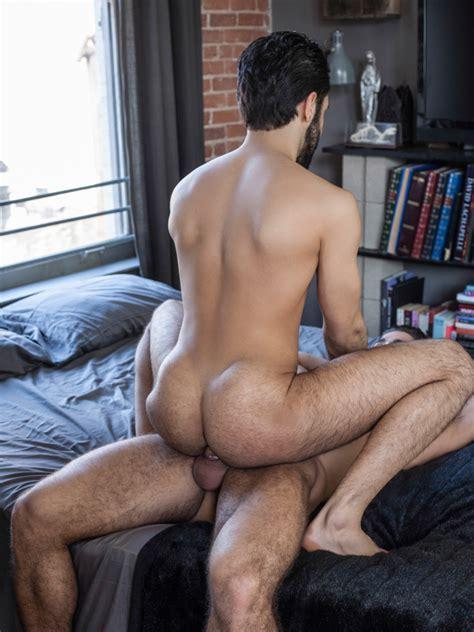 Diego Sans Fucks Shawn Abir Hairy Guys In Gay Porn