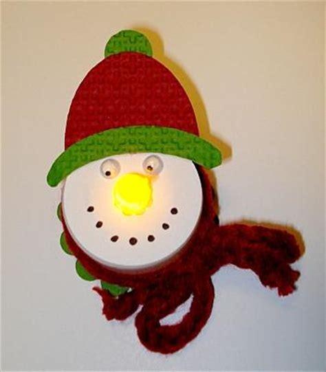 batter operated tea light snowman