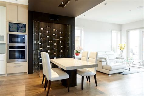 modern cable floating wine racks wow guests