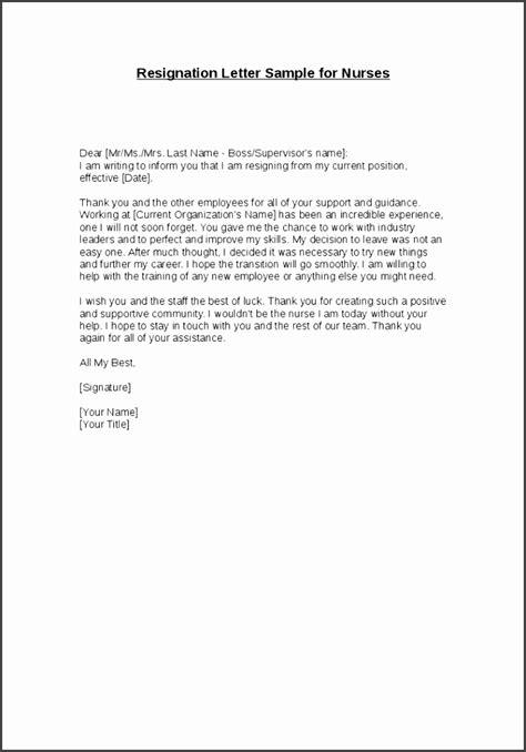 10 Simple Letter Of Resignation Template - SampleTemplatess - SampleTemplatess