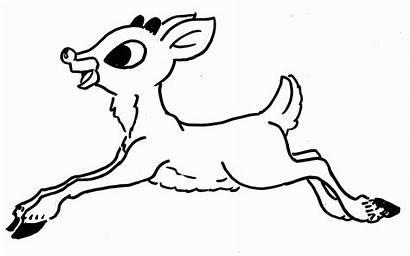 Coloring Rudolph Pages Pdf Jjk